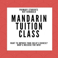 Mandarin Class for Primary Students